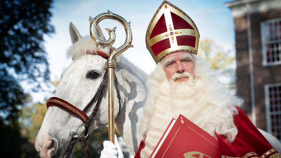 Sinterklaas op bezoek bij SJO ESB '19
